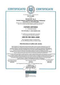 certificazione siciv